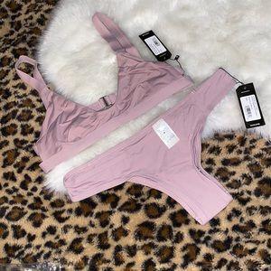 Tavik mauve bikini set in small
